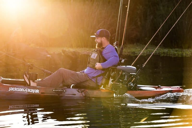 Use an electric motor in your kayak for more fun and effective results!!